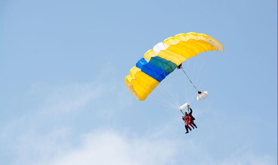 Fallschirmspringen Tandemsprung
